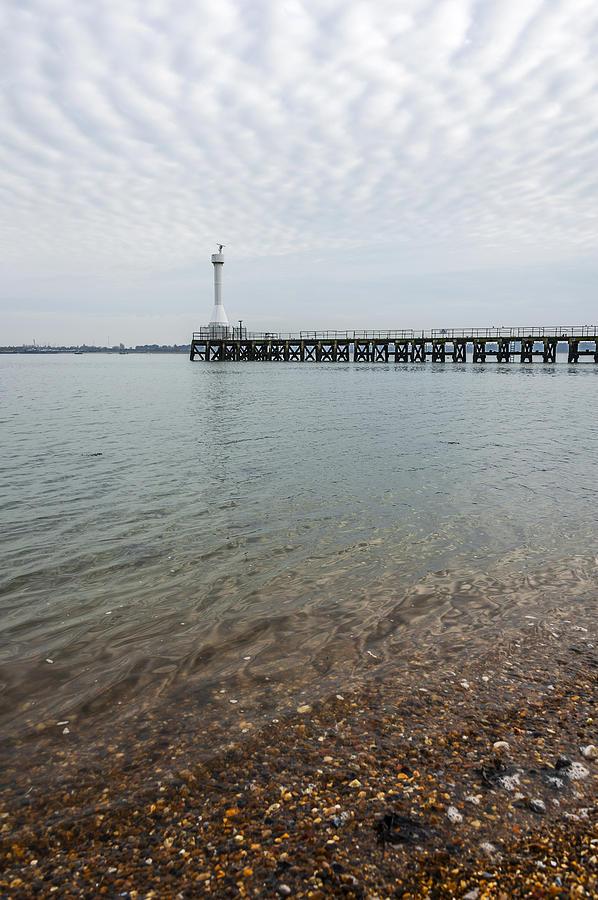 Bay Photograph - Sea Shore by Svetlana Sewell