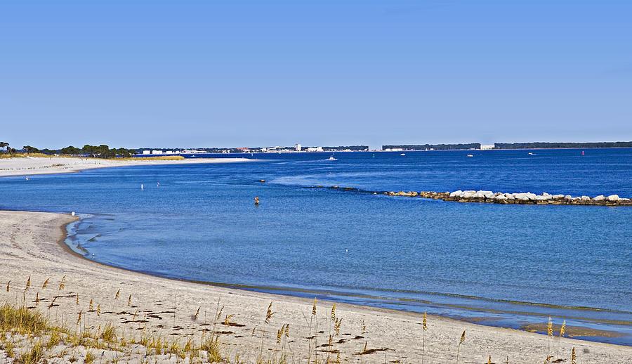 Coastline Photograph - Sea Side Area by Susan Leggett