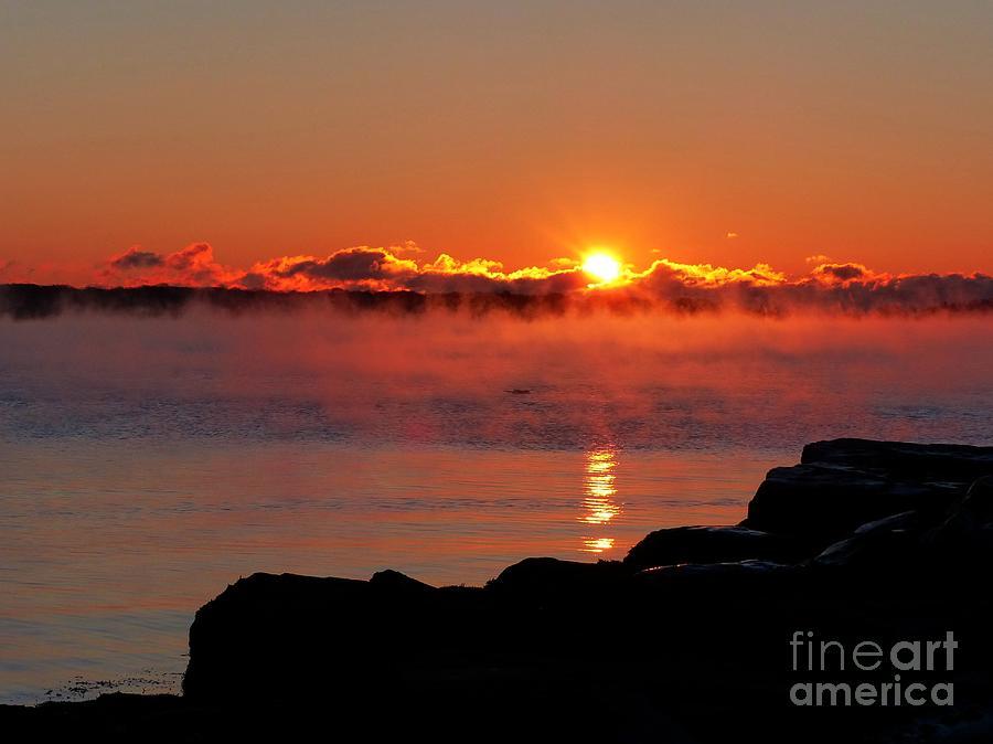 Sea Smoke Sunrise II by Christine Stack