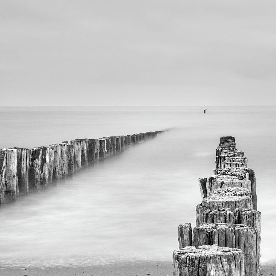 Sea Photograph - Sea Watcher by Michelle Degryse