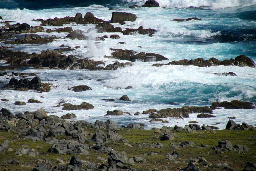 Ocean Photograph - Seafoam by Andrea Dale