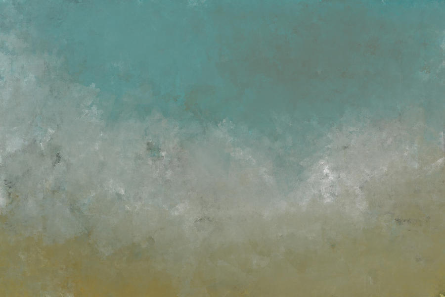 Abstract Digital Art - Seafoam by Jeff Montgomery