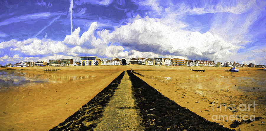 Southend On Sea Photograph - Seafront at Southend on Sea by Sheila Smart Fine Art Photography