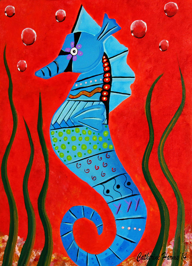 Seahorse by Catherine Harms