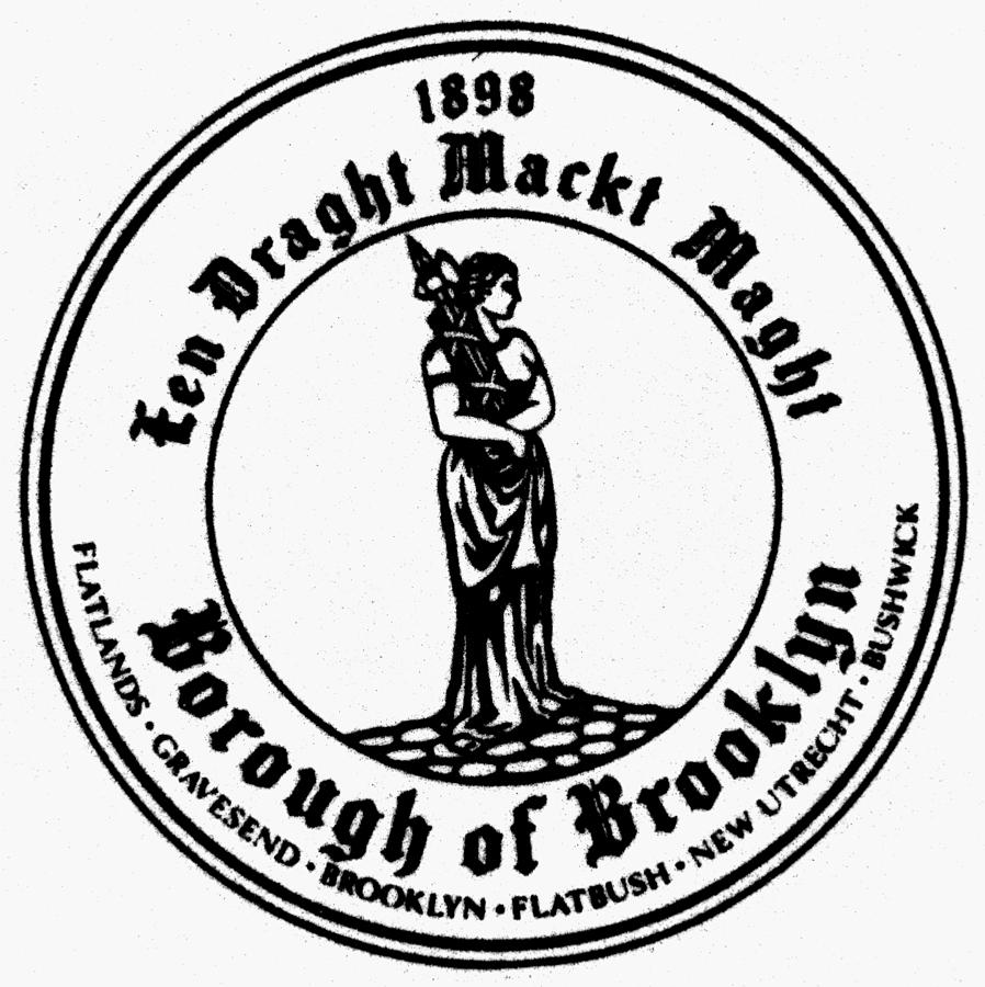 1898 Painting - Seal Of Brooklyn by Granger