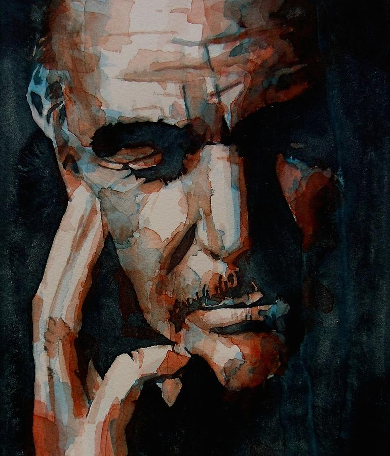 Sean Connery Painting - Sean Connery  by Paul Lovering