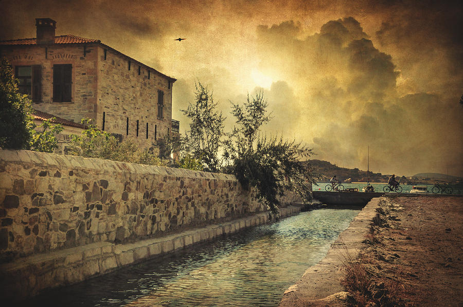 Mediterranean Photograph - Searching The Past by Taylan Apukovska