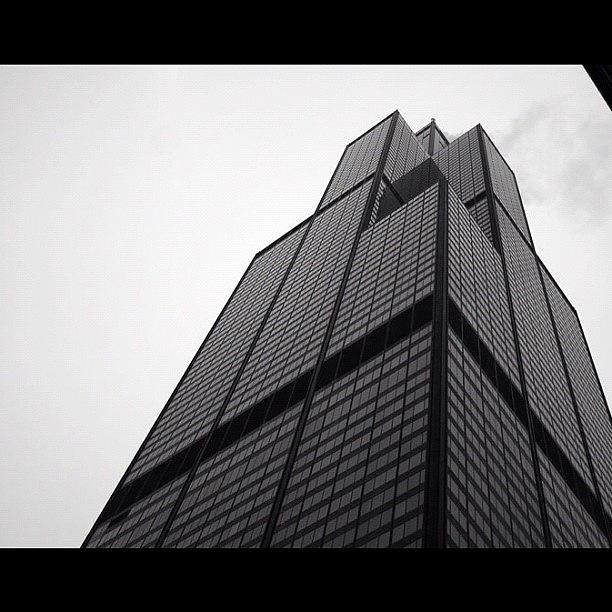 City Photograph - Sears Tower by Mike Maher
