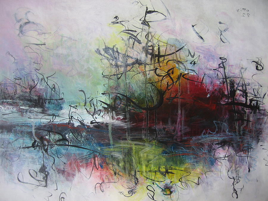 Abstract Paintings Painting - Seascape 000013 by Seon-Jeong Kim