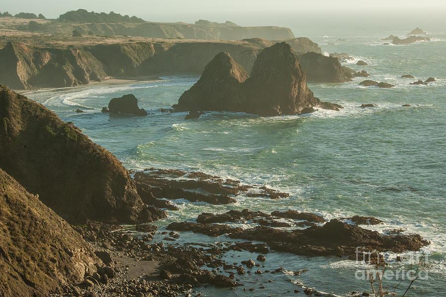 Coastal California Photograph - Seascape  1.7107 by Stephen Parker
