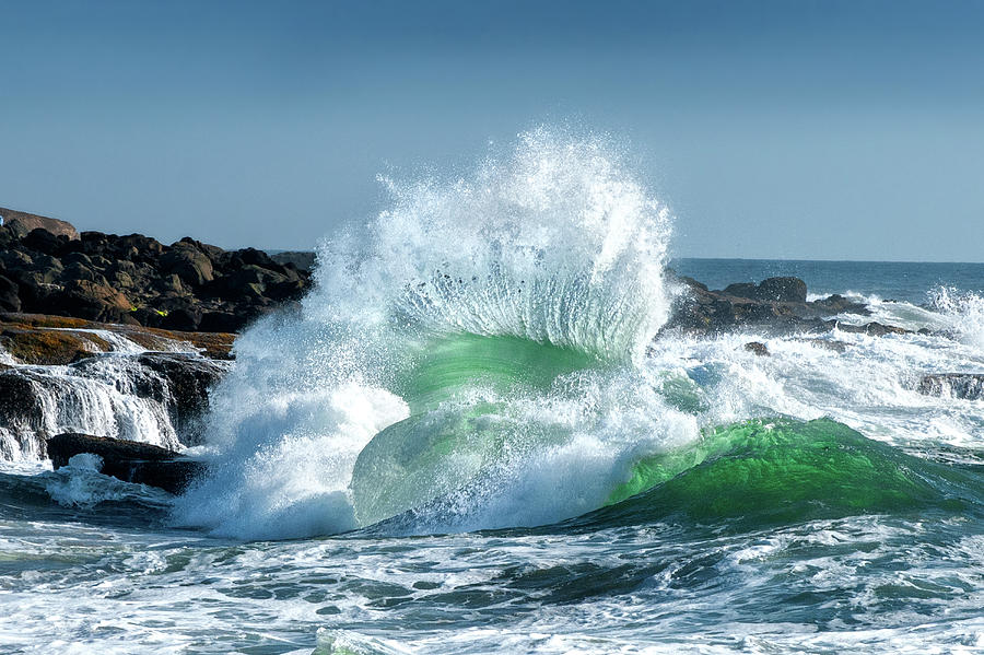 Seascape Photograph - Seascape 3 by David Rothstein