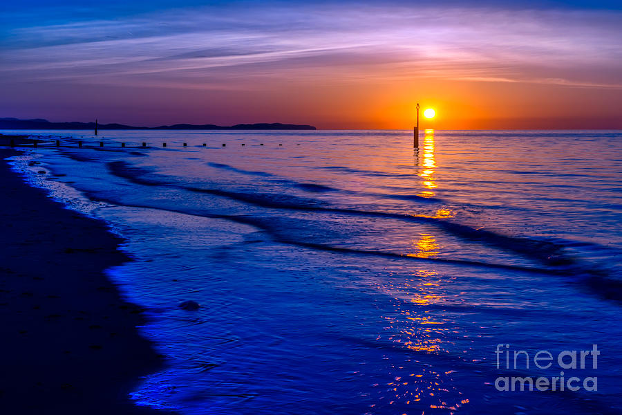 Bay Photograph - Seascape by Adrian Evans