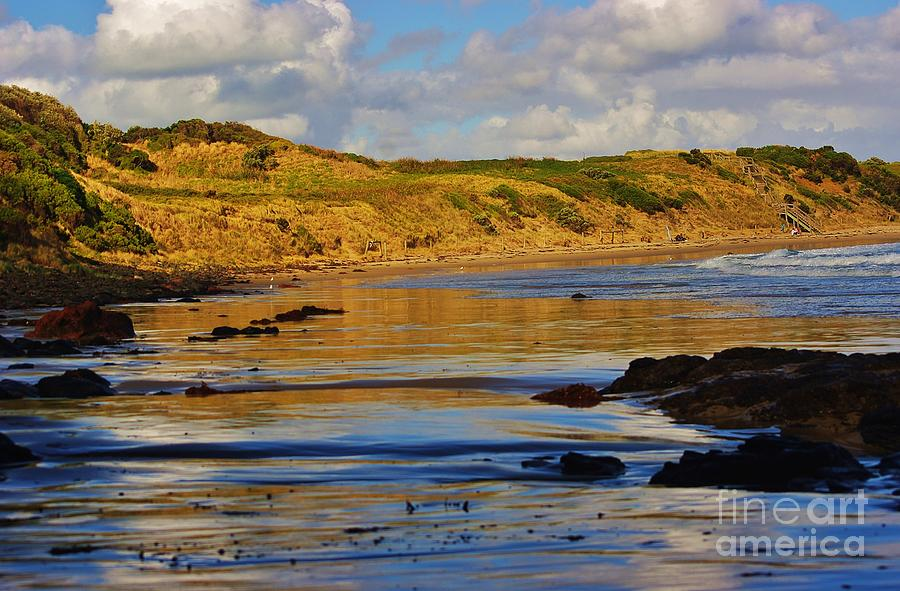 Creative Photograph - Seascape At Phillip Island by Blair Stuart