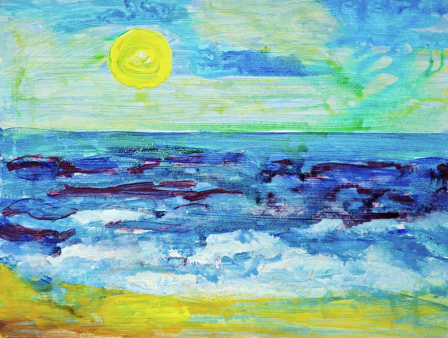 Seascape Digital Art by Balticboy