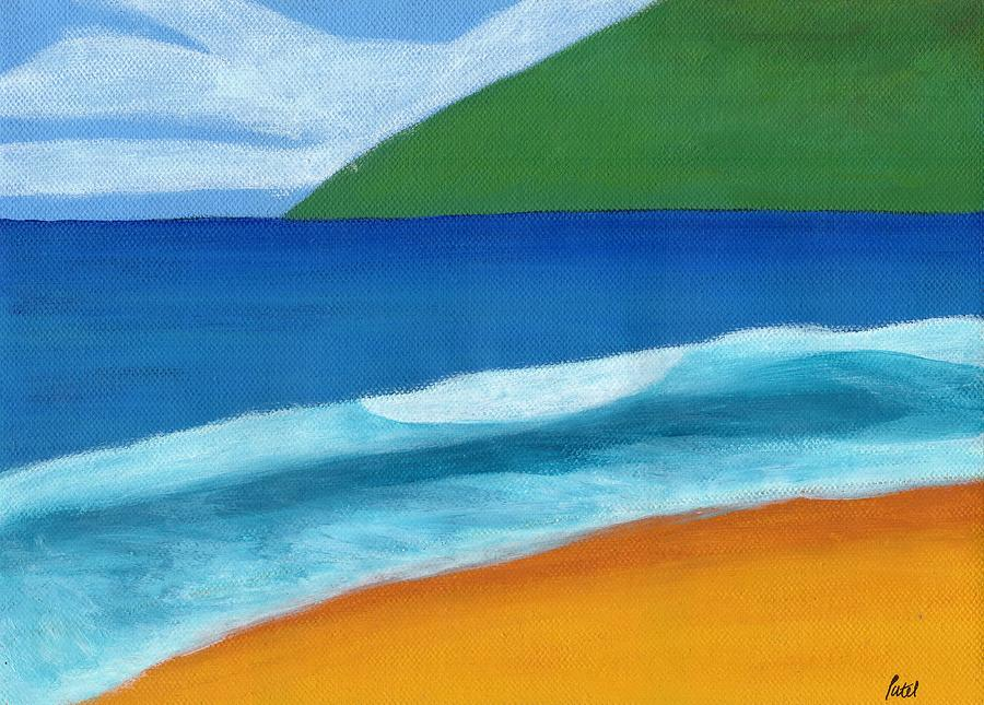 Seascape Painting - Seascape by Bav Patel