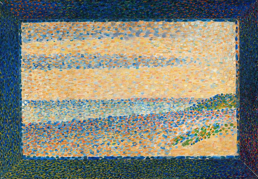 Seascape Painting by Georges Seurat