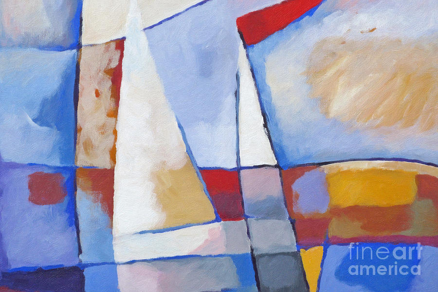 Seascape Painting - Seascape by Lutz Baar