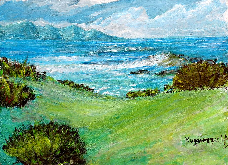 Seascape Painting - Seascape by Mauro Beniamino Muggianu