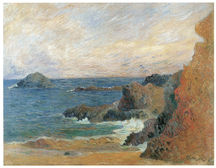 Paul Gauguin Painting - Seascape by Paul Guaguin