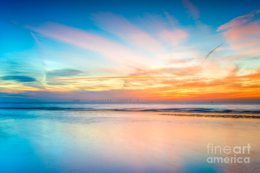 British Photograph - Seascape Sunset by Adrian Evans