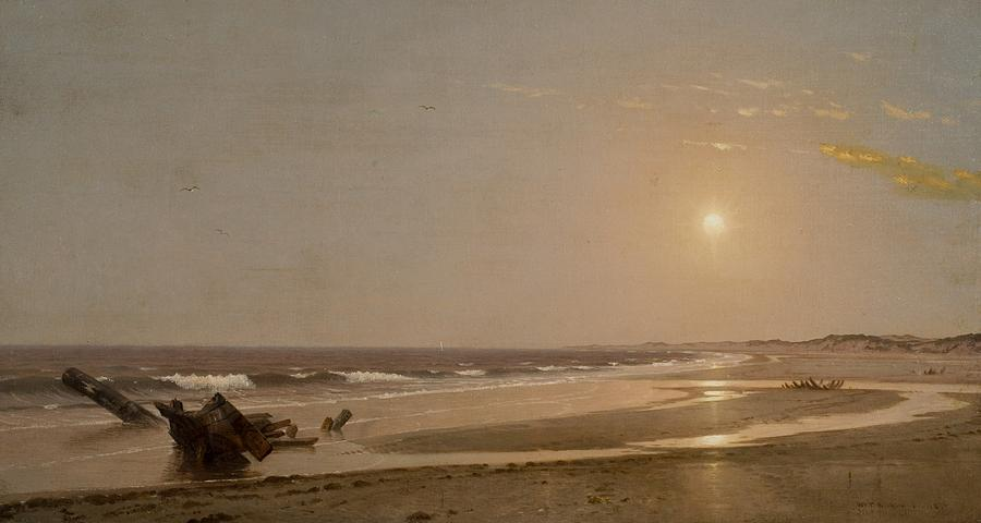 Seascape Painting - Seascape by William Trost Richards