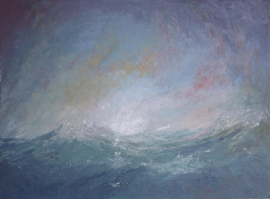Seascape Painting - Seascape1 by Sean Conlon