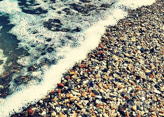 Shore Photograph - Seashore - Greeting Card Only by Scott Allison