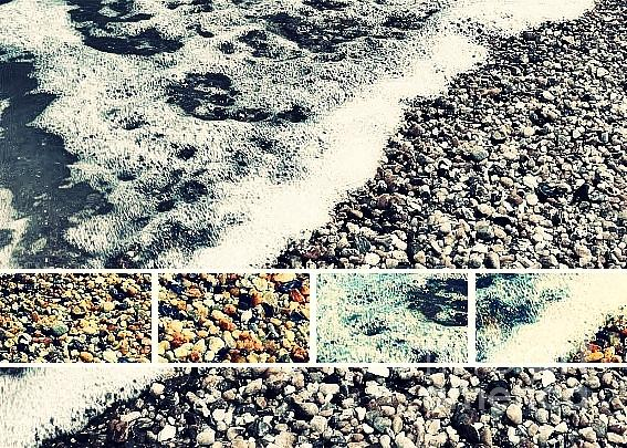 Shore Photograph - Seashore Upclose - Greeting Card Only by Scott Allison