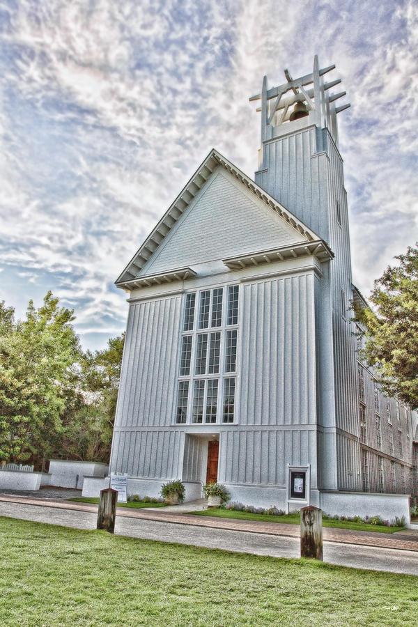 Chapel Photograph - Seaside Chapel by Scott Pellegrin