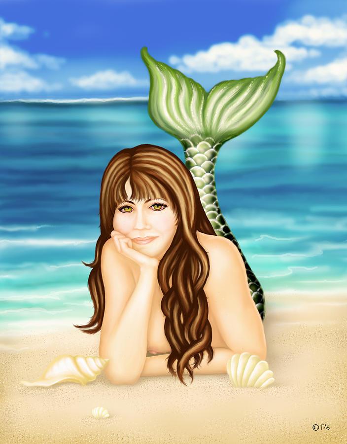 Seaside Daydreams Digital Art