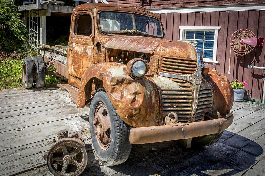 Canada Photograph - Seaside Dodge by Robert Yone