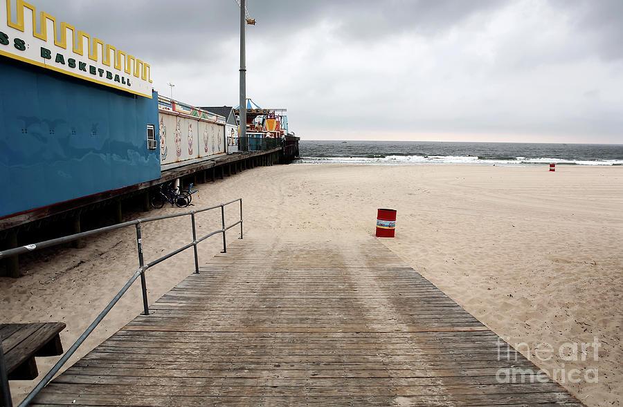 Beach Photograph - Seaside Heights Beach by John Rizzuto