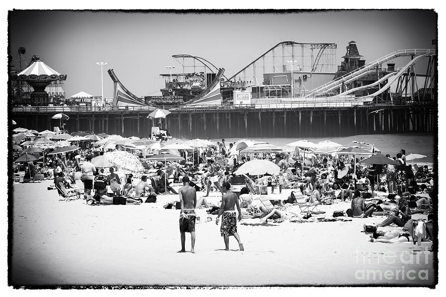 Seaside Heights Photograph - Seaside Heights by John Rizzuto