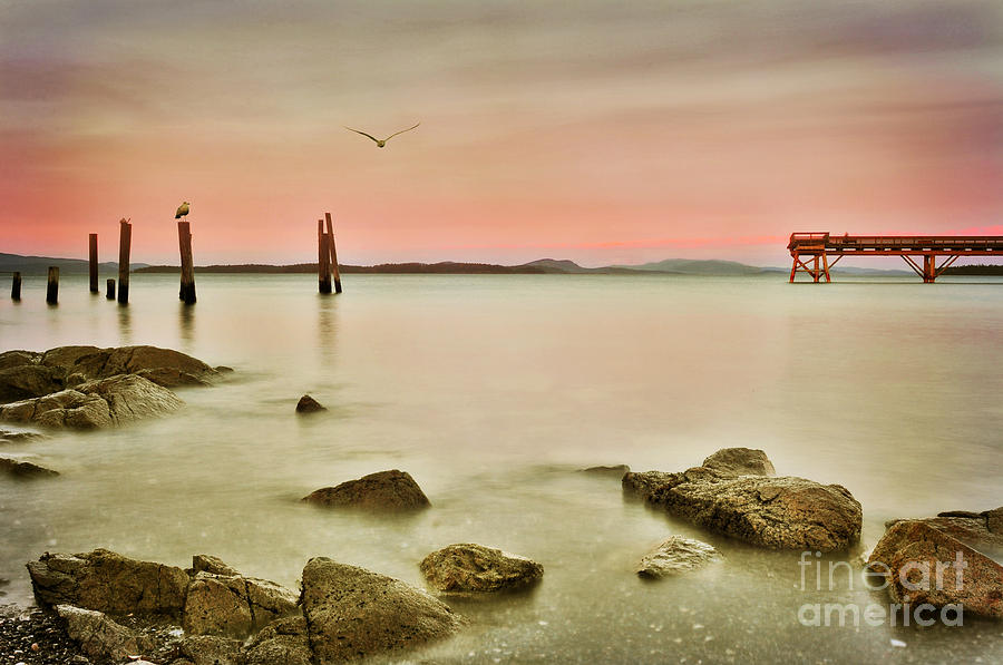 Seaside Pier  by Von McKnelly