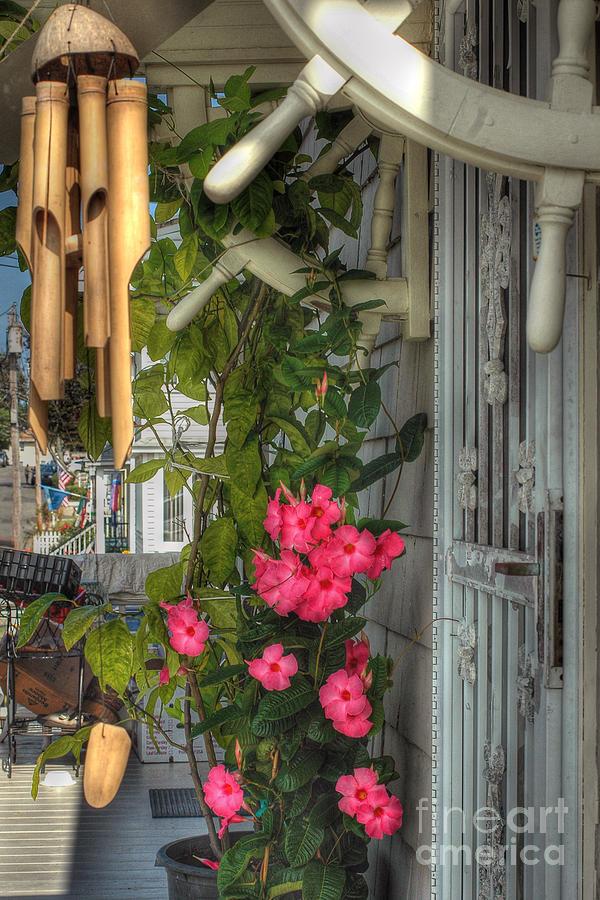 Porch Photograph - Seaside Porch by Joann Vitali