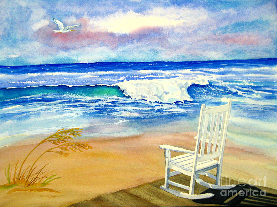 Seaside Serenade Painting By Martha Kuper Brinson