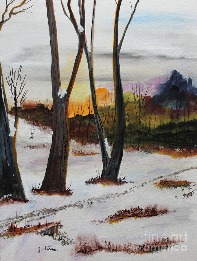 Jack Brauer Painting - Seasons by Jack G  Brauer