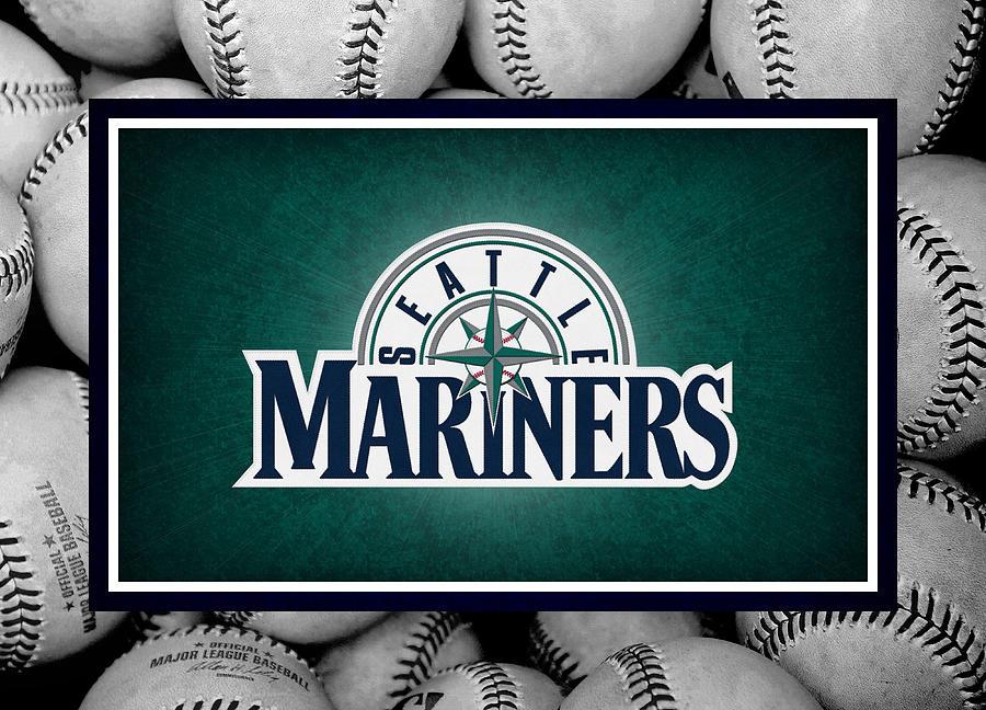 Mariners Photograph - Seattle Mariners by Joe Hamilton