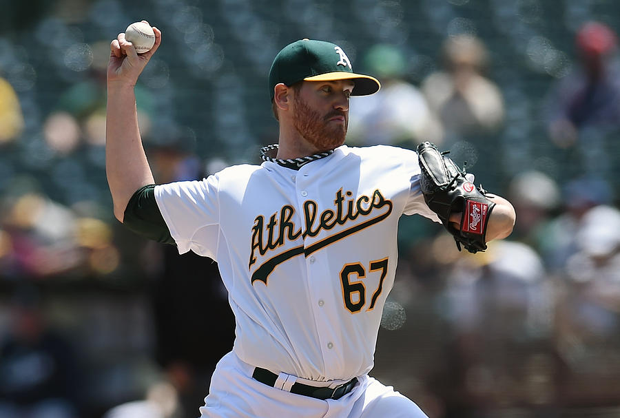 Seattle Mariners V Oakland Athletics - Photograph by Thearon W. Henderson