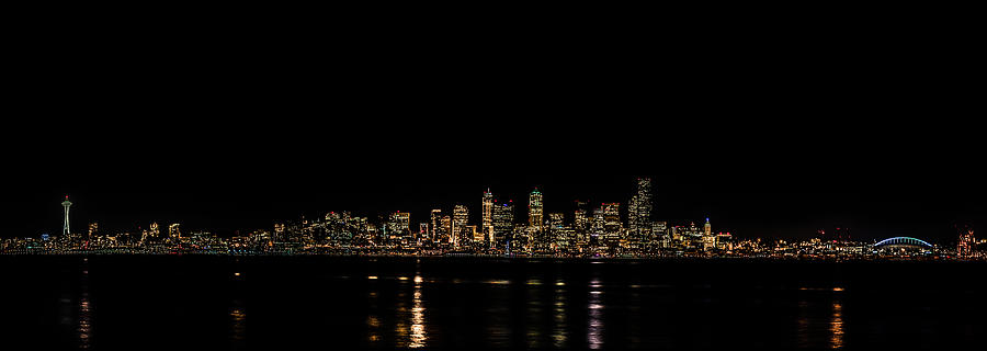 Seattle Photograph - Seattle Panorama by Brian Xavier