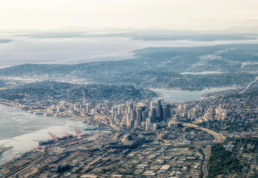 Seattle- Photograph by Paul Newell
