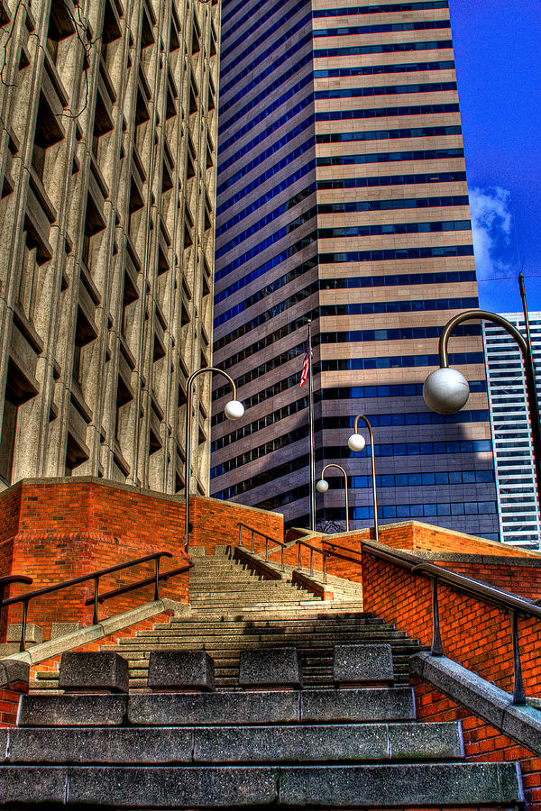 Seattle Photograph - Seattle Skyscrapers IIi by David Patterson