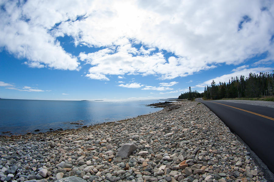 Acadia Photograph - Seawall - Acadia by Kirkodd Photography Of New England