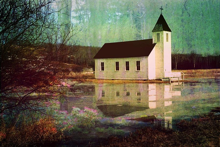 Church Photograph - Secluded Sanctum  by Shirley Sirois