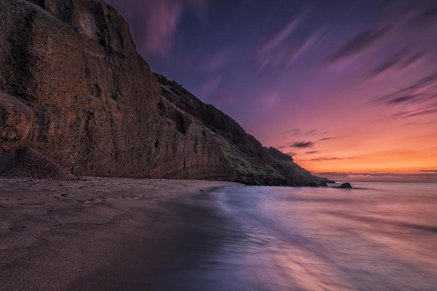 Maui Photograph - Secluded Sunset Maui by Hawaii  Fine Art Photography