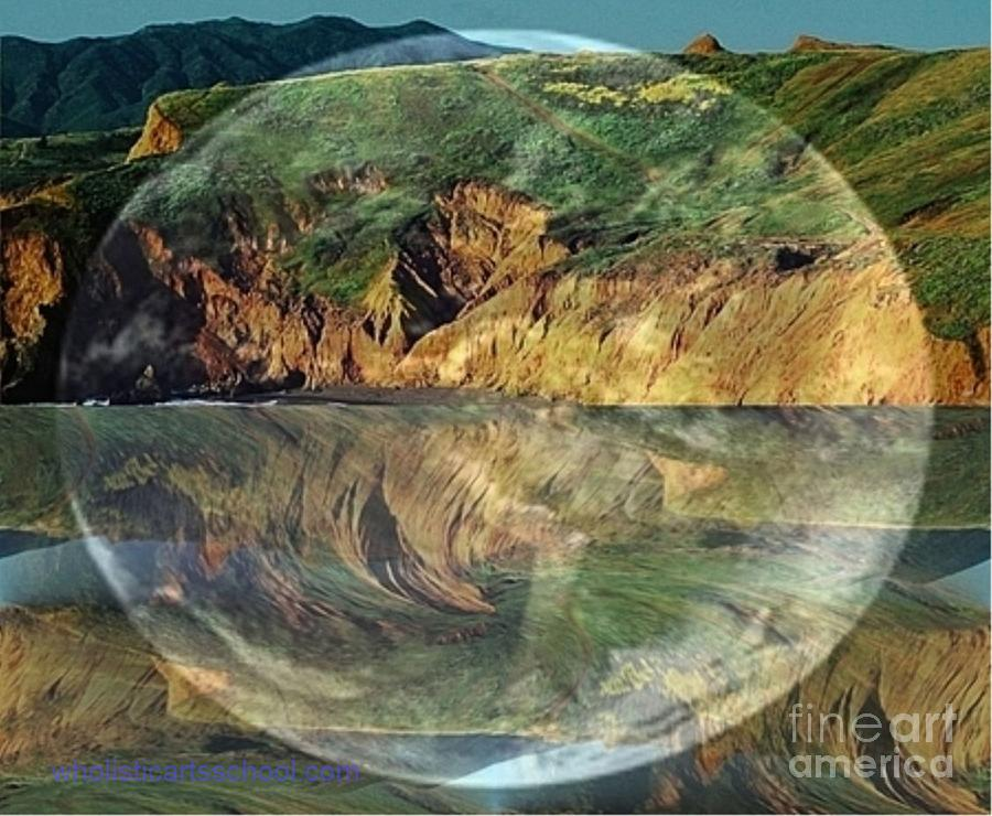 Sphere Photograph - Second Nature by PainterArtist FIN