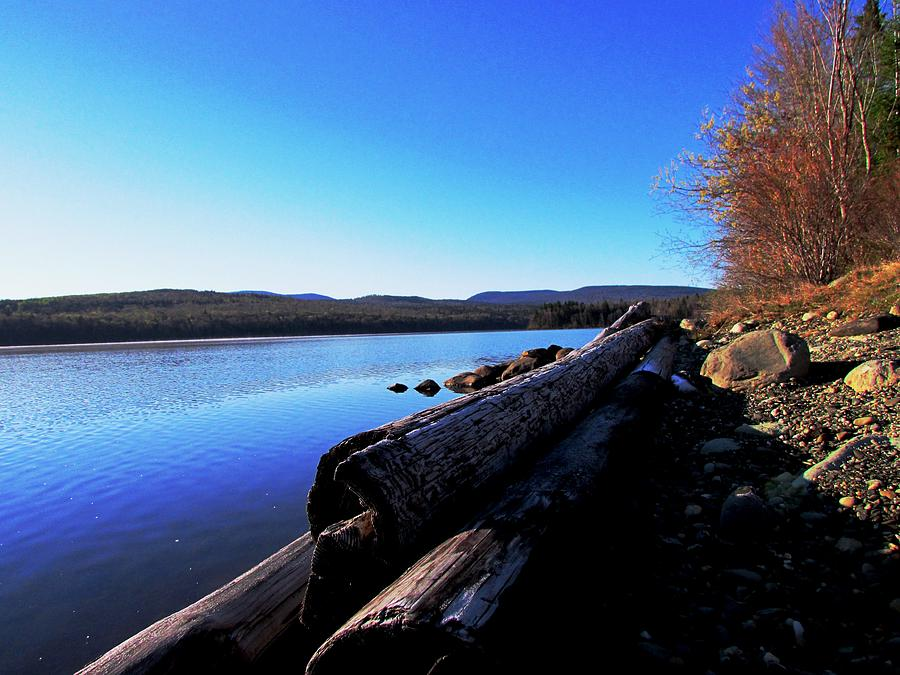 Landscape Photograph - Second Shoreline by Will Boutin Photos