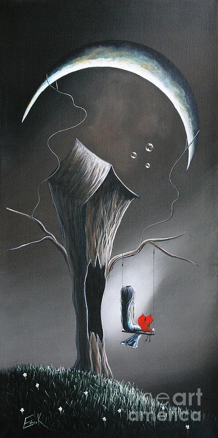 Serene Painting - Secret Gifts By Shawna Erback by Erback Art