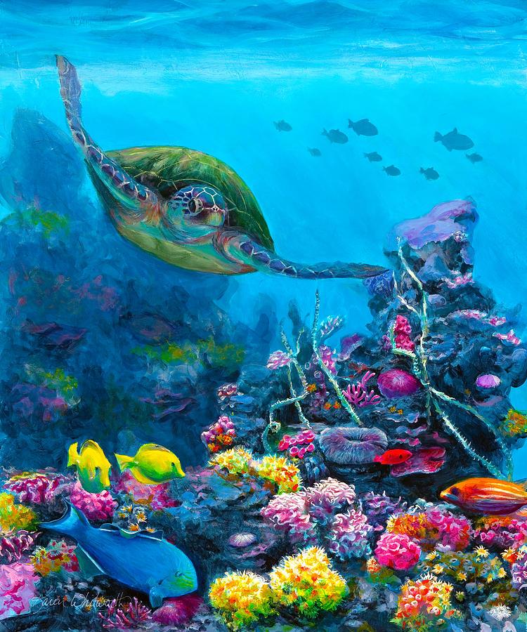 Under The Sea Paintings | Fine Art America