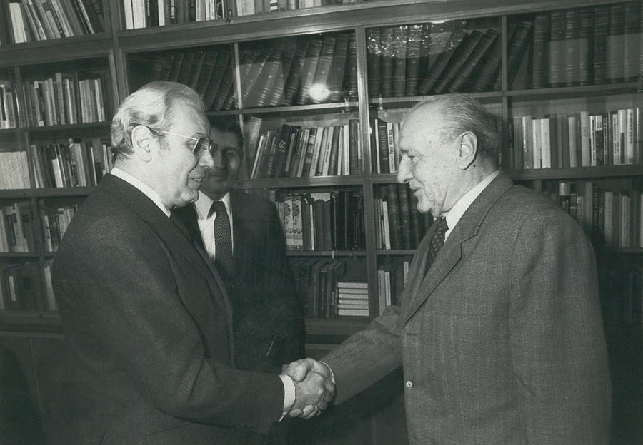 Retro Photograph - Secretary-general Visits Hungary by Retro Images Archive
